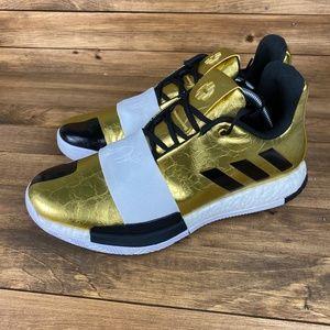 NEW Adidas James Harden Vol. 3 Imma Star GOLD